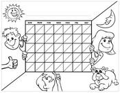 Blank Chart Kids Black Blank
